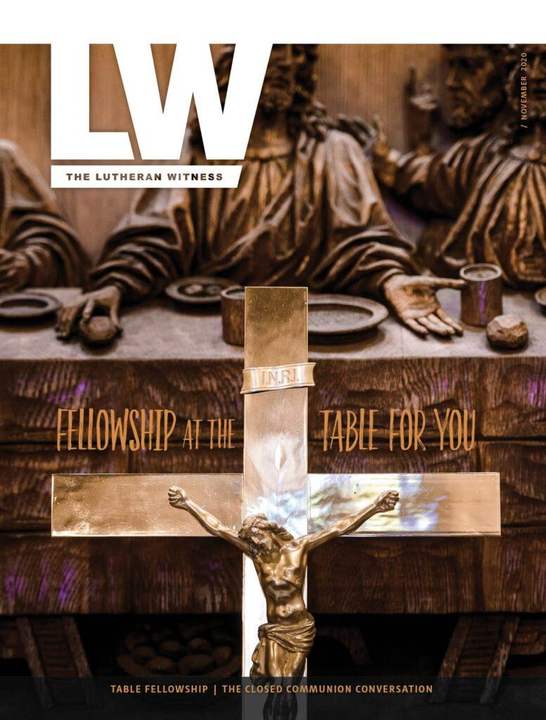 Lutheran Witness - November 2020
